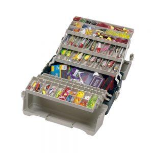 MOX9606 300x300 - Plano 6 Tray Tackle Box 76 Comp Green BGE