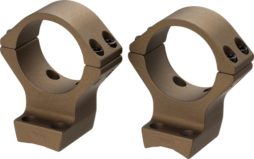 """ZA12531 - Browning X-lock Mounts 1"""" Low - 2-pc Bronze For X-bolt"""