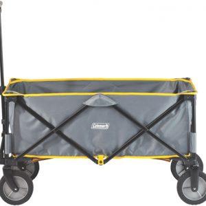 ZA2000023362 300x300 - Coleman Folding Camp Wagon w- Wheels Gray-Black-Yellow Trim