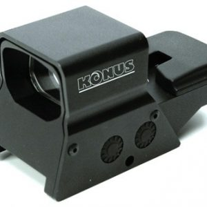 ZA7376K 300x300 - Konus Red-grn Dot Sightpro R8 - 2-5moa 1x27 8-retic Dual Rail