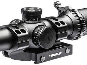 ZATG8514TLR 300x225 - Truglo Omnia 1-4x24mm Scope - 30mm Tube Ir Sp W-1pc Mount Do