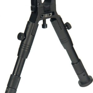 "ZATLBP18SA 300x300 - Utg Bipod Clamp On Center Ht - 6.2""-6.7"" W-rubber Foot Pads"