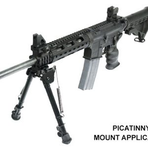 "ZATLBP88Q 300x300 - Utg Bipod Tactical Op 8-12.4"" - Picatinny Mount W-stud Adapter"
