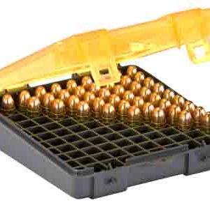 ZA122400 300x297 - Plano Ammo Box 9mm-.380acp - 100-rnds Flip Top