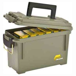 """ZA131200 300x300 - Plano Field Box Ammo Can Green - Sold By Each 11.63""""x713""""x5.13"""""""