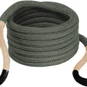 "ZA176655BKG 300x300 - Bubba Rope Renegade 3-4""x20' - Jeep Stretch Rope Tan Eyes"