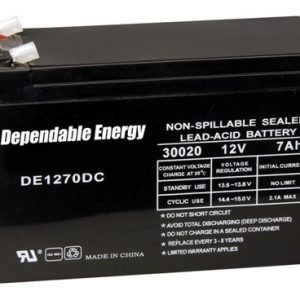 ZADE30020 300x300 - American Hunter Battery - Rechargeable 12v 7amp Tab Top