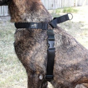 """ZAK9H00101XL 1 300x300 - Us Tactical K9 Harness X-large - Up To 30-53"""" Black!"""