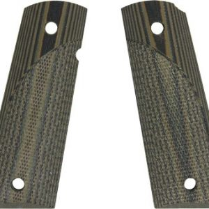 ZAP61000 300x300 - Pachmayr Dominator G10 Grips - For 1911 Green-black Checkered