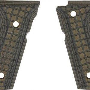 ZAP61090 300x300 - Pachmayr Dominator G10 Grips - Beretta 92fs Grn-blk Grap