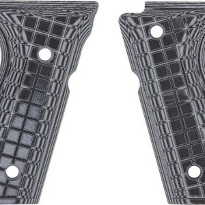 ZAP61091 300x300 - Pachmayr Dominator G10 Grips - Beretta 92fs Gray-blk Grap