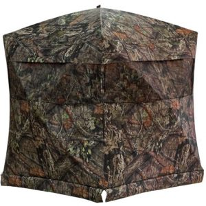 "ZAR200MOC 300x300 - Rhino Ground Blind Mossy Oak - Country 75""x75""-hub 66""-tall"