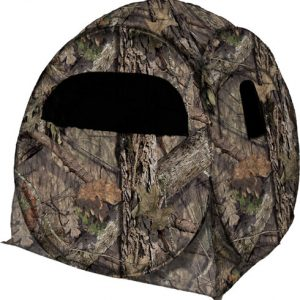 "ZAR75MOC 300x300 - Rhino Ground Blind Mossy Oak - Country 60""x60""-floor 66""-tall"