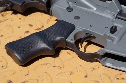 ZAZABASBRP 1 - Ab Arms Grip Sbr P Pistol Grip - Ar-15 Black