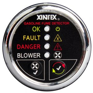 CW63868 300x300 - Xintex Gasoline Fume Detector & Blower Control w-Plastic Sensor - Chrome Bezel Display