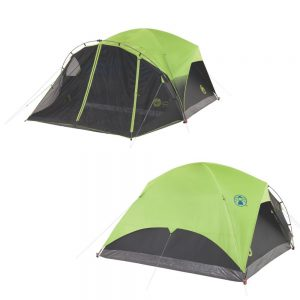 CW71865 300x300 - Coleman 6-Person Darkroom Fast Pitch Dome Tent w-Screen Room