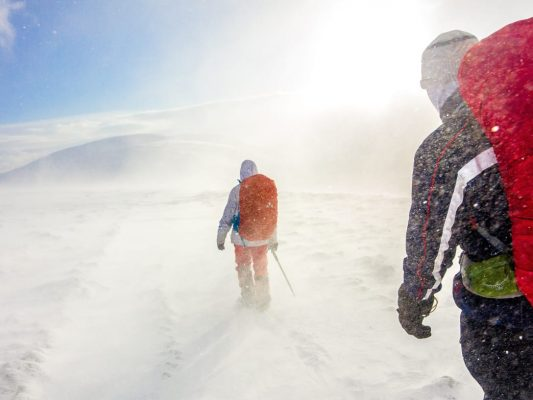 Hiking Gear 533x400 - How to Tackle a Long-Distance Hike in Winter