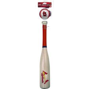 MOX1119843 300x300 - Rawlings StL Cardinals Grand Slam Softee Bat and Ball Set