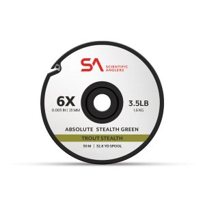 MOX1120054 300x300 - Scientific Anglers Absolute Trout Stealth Tippet 30M Grn