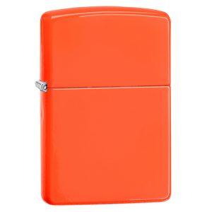 MOX4010758 300x300 - Zippo Classic Neon Orange Lighter