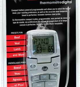 ZABTDIGTHERMO 277x300 - Bradley Digital Thermometer - 1aa W- Easy Viewing Stand