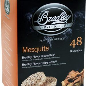 ZABTMQ48 300x300 - Bradley Smoker Mesquite Flavor - Bisquettes 48 Pack