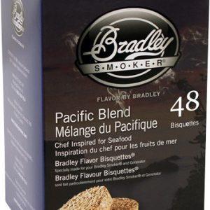ZABTPB48 300x300 - Bradley Smoker Pacific Blend - Flavor Bisquettes 48 Pack!