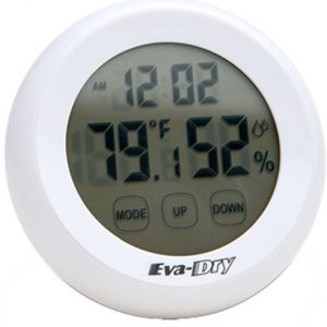ZAEDH85 300x300 - Eva-dry Hygrometer Wirelss - Indoor Tep & Humidity Clock