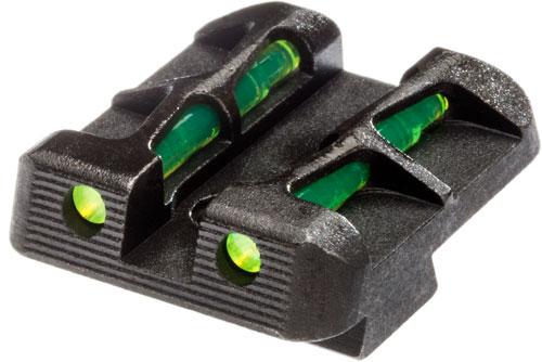 ZAGLLW15 1 - Hiviz Litewave Rear Sight For - Glock 9mm-40s&w-.357sig