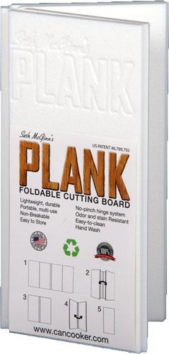"ZASMP1408 - Can Cooker The Plank 8""x16"" - Folding Cutting Board!"