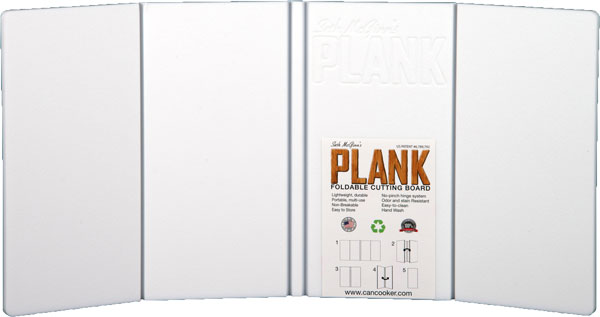 "ZASMP1408 1 - Can Cooker The Plank 8""x16"" - Folding Cutting Board!"