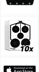 ZATSUSA0110 164x300 - Trainshot Orginal Kit - 1-bluetooth Unit 10-targets
