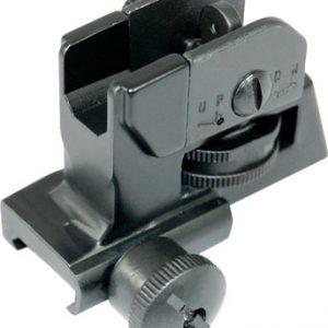 ZAZA2CUT 300x300 - Guntec Ar15 Fixed Rear Sight - A2 Style W-quick Detach Knob