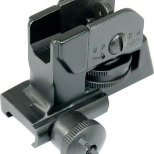 ZAZA2CUT 300x300 - Guntec Folding Iron Sight Set - Spring Assisted Black