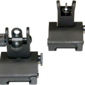 ZAZSIGHTSETK 300x300 - Guntec Folding Iron Sight Set - Spring Assisted Black