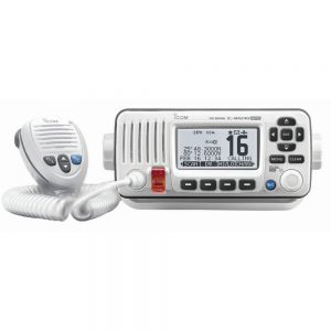 CW56332 300x300 - Icom M424G Fixed Mount VHF Marine Transceiver w-Built-In GPS - Super White