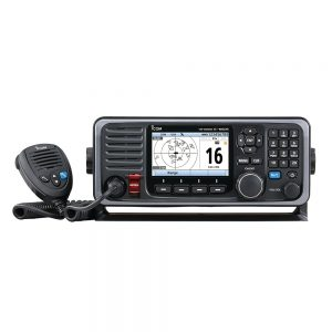 CW65312 300x300 - Icom M605 Fixed Mount 25W VHF w-Color Display, AIS & Rear Mic Connector
