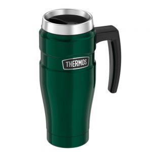 CW74649 300x300 - Thermos Stainless King Vacuum Insulated Stainless Steel Travel Mug - 16oz - Pine Green