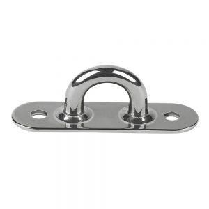 "CW74762 300x300 - Schaefer Stainless Steel Welded Pad Eye - 2-1-4""L x 5-8""W"