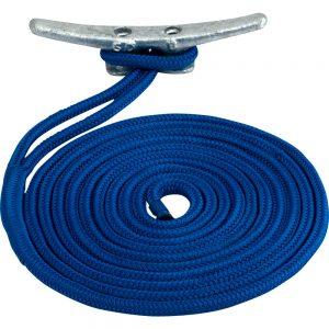 "CW77310 300x300 - Sea-Dog Double Braided Nylon Dock Line - 1-2"" x 25' - Blue"