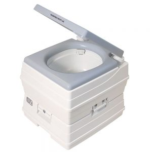 CW80530 300x300 - Dock Edge Passport Potty Portable Toilet - Grey - 18L