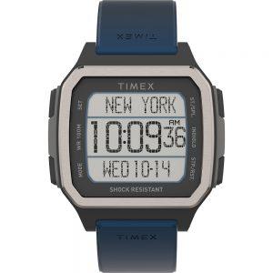 CW80785 300x300 - Timex Command Urban 47mm - Black Case w-Blue Strap