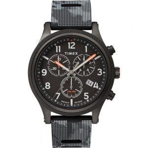 CW80790 300x300 - Timex Allied LT Chrono 42mm - Black Case w-Black Camo Dial