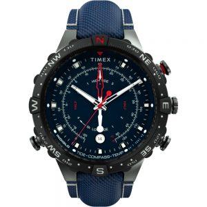 CW80791 300x300 - Timex Allied 45mm Tide Temp Compass - Gunmetal & Blue