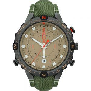 CW80792 300x300 - Timex Allied 45mm Tide Temp Compass - Gunmetal & Tan