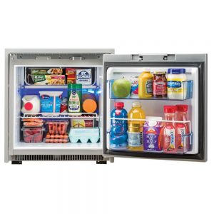 CW48144 300x300 - Norcold 2.7 Cubic Feet AC-DC Marine Refrigerator - Stainless Steel