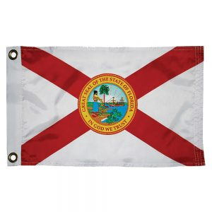 "CW76134 300x300 - Taylor Made Florida Nylon Flag 12"" x 18"""