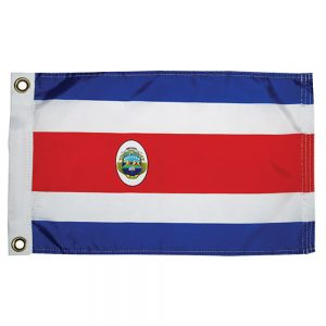 "CW76173 300x300 - Taylor Made Costa Rican Nylon Flag 12"" x 18"""