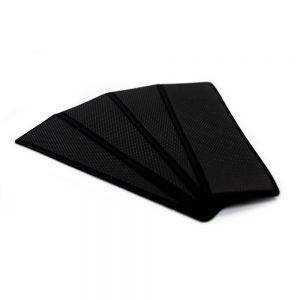 """CW83172 300x300 - SeaDek Embossed 5mm 4-Piece Step Kit - 3.75"""" x 12.75"""" - Black"""
