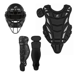 MOX1118363 300x300 - Champro Triple Play Youth Catchers Set Ages 6-9 Black